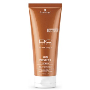 Shampooing à l'huile de Monoï Sun Protect