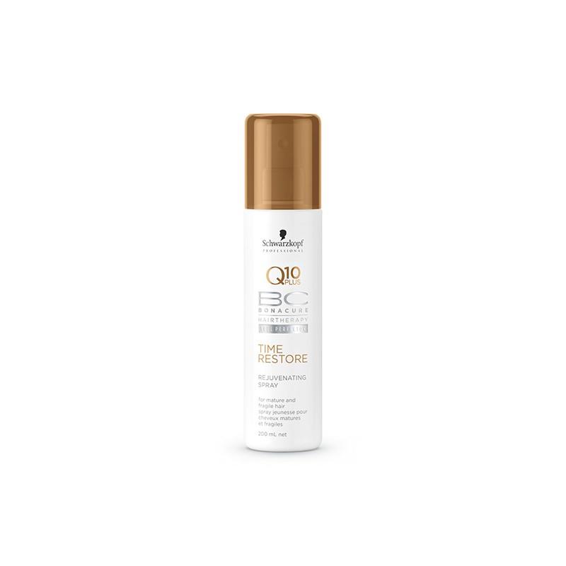 Schwarzkopf Spray jeunesse Q10 Time Restore 200ML, Spray cheveux