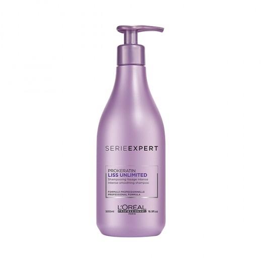 L'Oréal Professionnel Shampooing lissage intense Liss Unlimited 500ML, Cosmétique