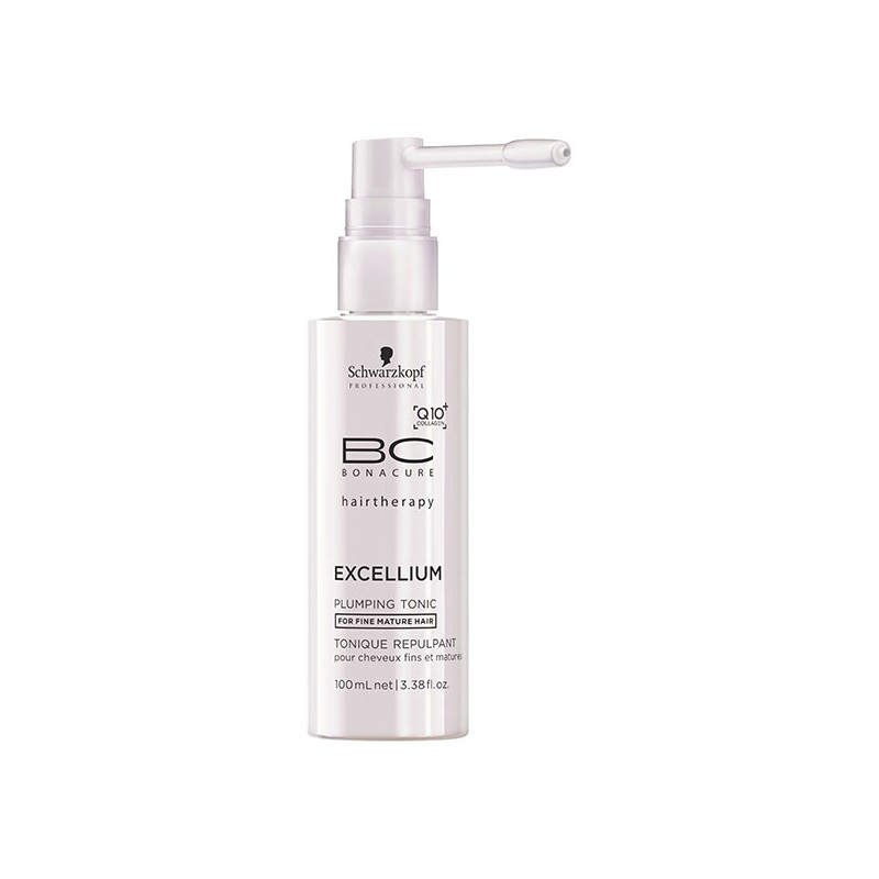 Schwarzkopf Tonique repulpant excellium bonacure 100ML, Crème cheveux sans rinçage