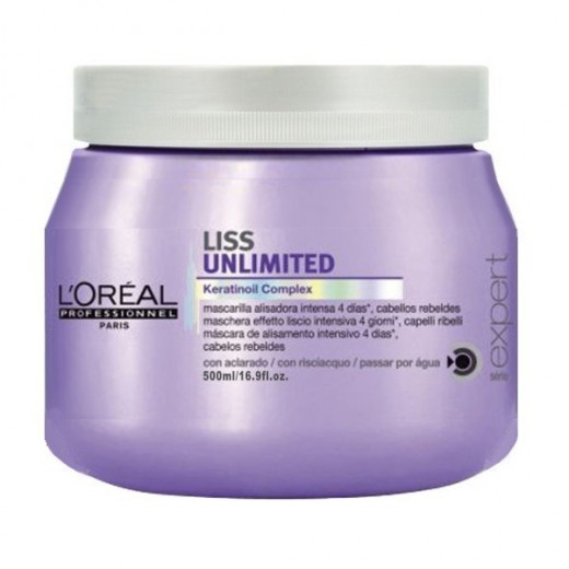 Masque Liss Unlimited Serie Expert L'Oréal 500 ml