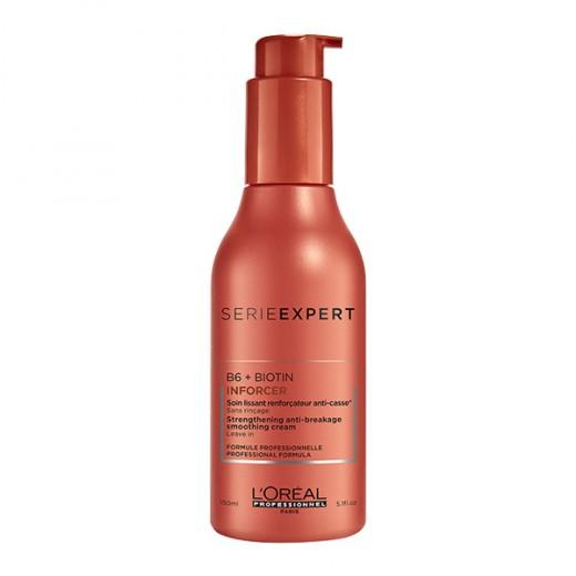 L'Oréal Professionnel Soin renforçateur anti-casse leave-in Inforcer 150ML, Crème cheveux sans rinçage