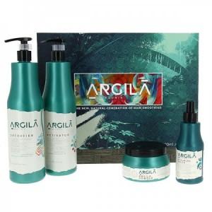 Argila Amazonia Kit lissage a l'argile Argila 2500ML, Kit lissage brésilien