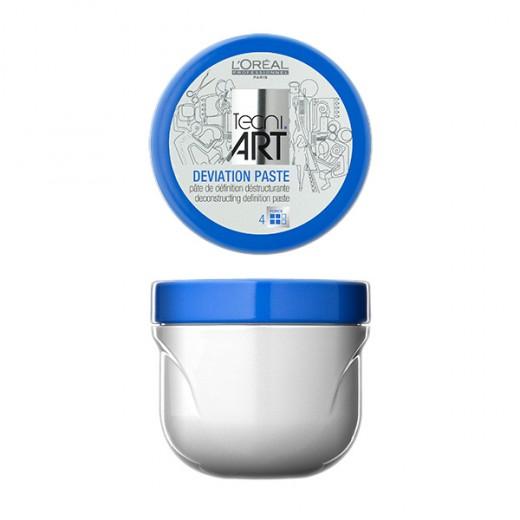 L'Oréal Professionnel Pâte de coiffage Deviation paste Play ball 100ML, Pâte sculptante