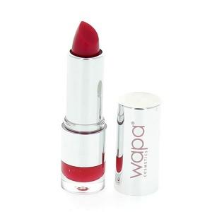 Wapa Rouge à lèvres hydratant brillant Rouge moyen 033 4ML, Rouge à lèvres