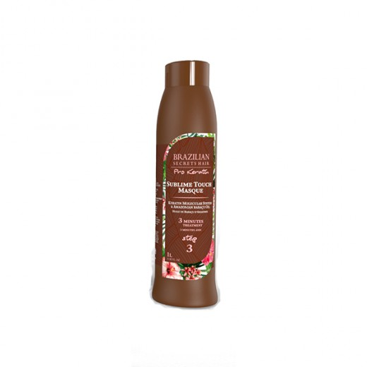 Masque sublime touch Brazilian Secrets Hair Pro Keratin 1000ml