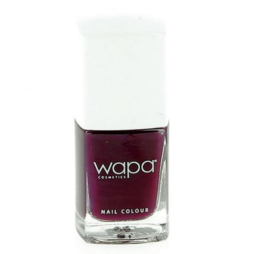 Wapa Vernis à ongles séchage rapide Prune 022 12ML, Vernis à ongles couleur