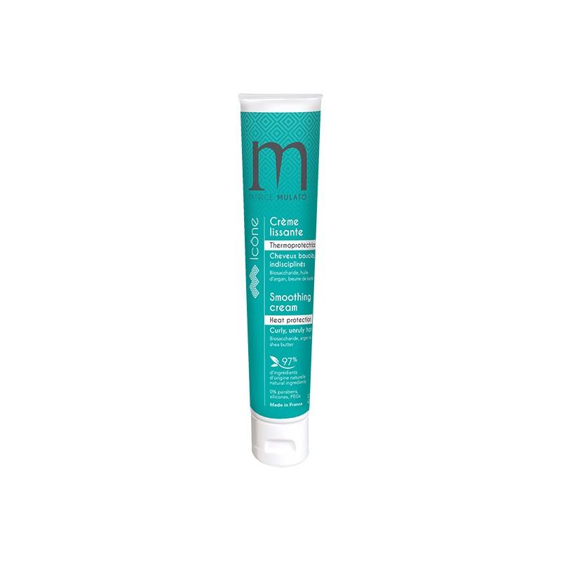 Mulato Crème lissante thermoprotectrice Icône 125ML, Crème cheveux sans rinçage