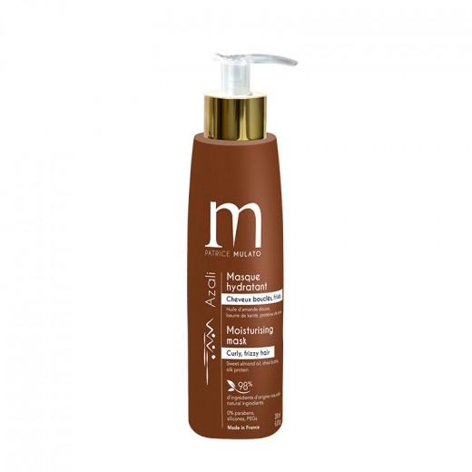 Mulato Masque hydradant Azali cheveux bouclés et frisés 200ML, Après-shampoing naturel