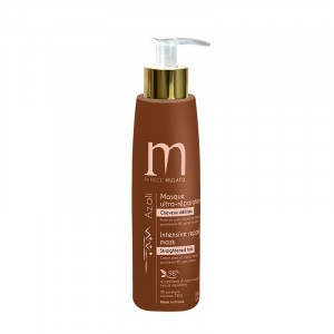 Mulato Masque ultra réparateur Azali cheveux défrisés 200ML, Après-shampoing naturel