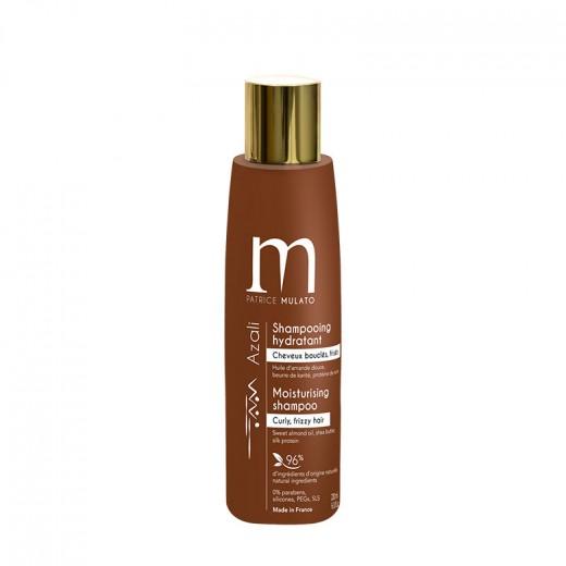 Mulato Shampooing hydratant Azali cheveux bouclés et frisés 200ML, Shampoing naturel