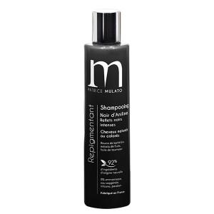 Mulato Shampoing Repigmentant Noir d'aniline 200ML, Shampoing naturel