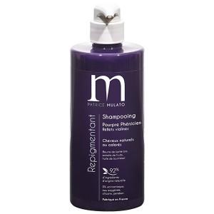 Mulato Shampoing Repigmentant Pourpre phenicien 500ML, Shampoing naturel