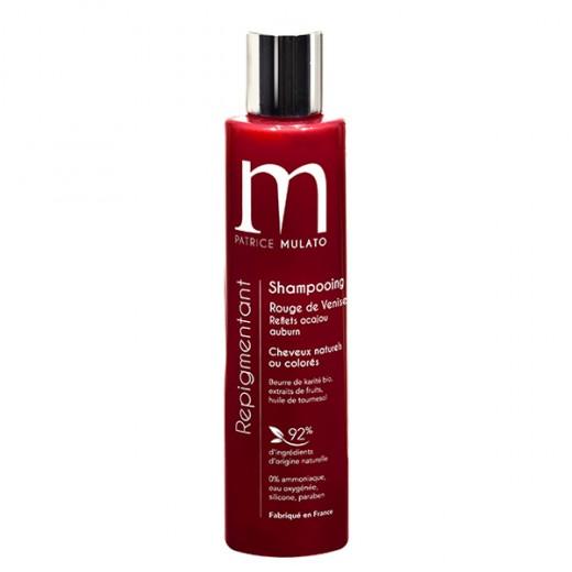 Mulato Shampoing Repigmentant Rouge venise 200ML, Shampoing naturel