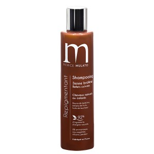 Mulato Shampooing Repigmentant Sienne brulée 200ML, Shampoing naturel