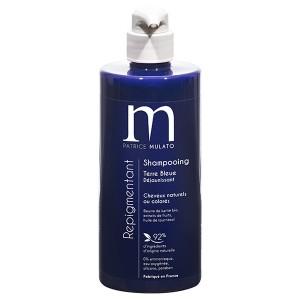 Mulato Shampooing Repigmentant déjaunisseur Terre bleue 500ML, Shampoing naturel