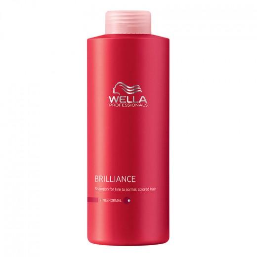 Shampooing cheveux colorés fins wella 1000ml
