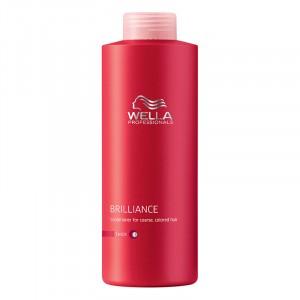 Wella Après-shampooing cheveux colorés Brilliance 1000ML, Après-shampoing avec rinçage