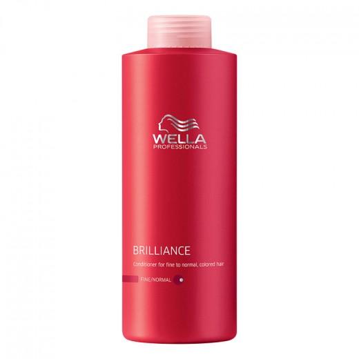 Après-shampooing cheveux colorés fins wella 1000ml