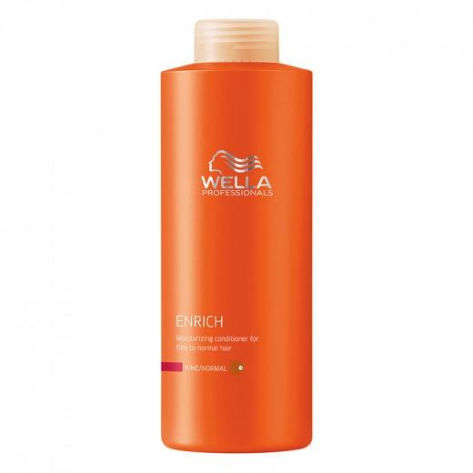 Après-shampooing hydratant cheveux fins wella 1000ml