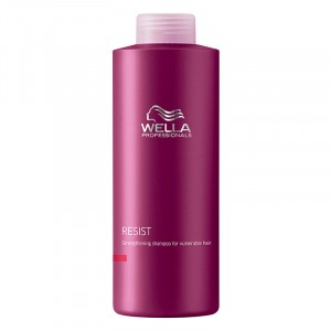 Wella Shampooing fortifiant cheveux fragiles Resist 1000ML, Cosmétique