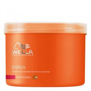 Wella Masque hydratant cheveux fins Enrich 500ML, Masque cheveux