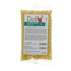 Doll Cire gouttelette pelable Jaune 200gr, Cire gouttelette