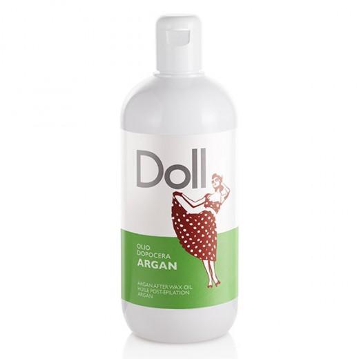 Doll Huile post epilation Argan 500ML, Soin pré et post épilation