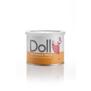Doll Cire d'épilation Miel 400ML, Pot de cire