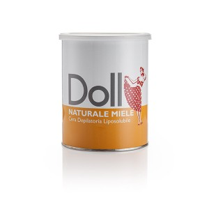 Doll Cire d'épilation Miel 800ML, Pot de cire
