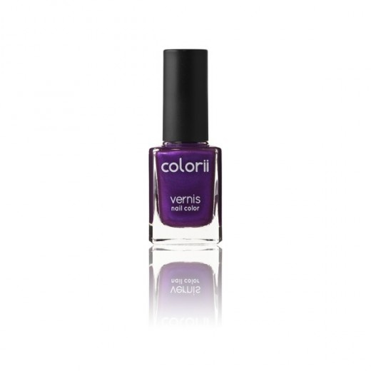 Colorii Vernis à ongles Deep purple 11ML, Vernis à ongles couleur