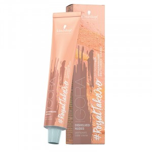 Schwarzkopf Coloration d'oxydation Igora royal TakeOver Disheveled Nudes 60ML, Coloration d'oxydation