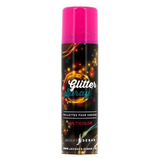 Bombe paillettes multicolores jacques Seban 150ml