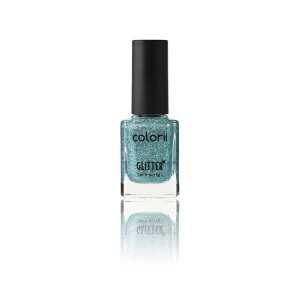 Colorii Vernis à ongles Glitter Own the sky 11ML, Vernis à ongles couleur
