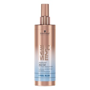 Schwarzkopf Sublimateur de blond pastel BlondMe Instant Blush bleu métallique 250ML, Coloration temporaire