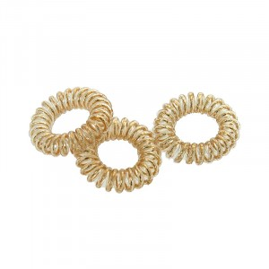 Coiffeo Hair ring Set x3 Doré, Elastique